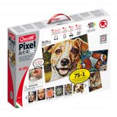 Jogo Pixel Art 6800 pcs 33x25 cm 6 cores Quercetti