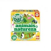 Jogo Quiz Descobrir os Animais e a Natureza