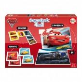 Jogo Superpack 4 em 1 Cars 3