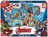 Jogos 8 em 1 Marvel Avengers