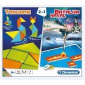 Jogos Batalha Naval + Tangram Clementoni