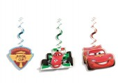 Kit 3 Espirais Decorativas Faísca Cars