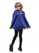 Kit Carnaval Batgirl com máscara e capa de Batgirl