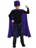 Kit com máscara e capa Batman