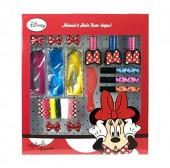 Kit de Acessórios de cabelo Minnie Disney