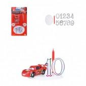 Kit de Decoração Cars (Faisca) + Vela + Números