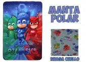 Kit de  Manta Polar + Cachecol PJ Masks