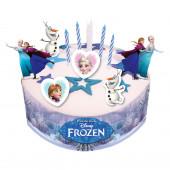 Kit Decoração bolo Frozen