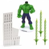 Kit Decoração Bolo Hulk Avengers