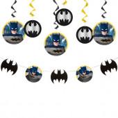 Kit Decoração Suspensa Batman