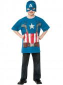 Kit Disfarce Carnaval do Capitão América