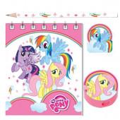 Kit Papelaria My Little Pony 20 pçs