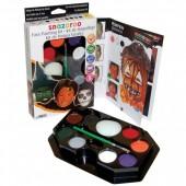 Kit Snazaroo Pinturas Faciais Halloween 50 Rostos