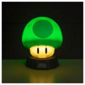 Lâmpada 1Up Cogumelo Super Mario