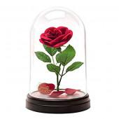 Lâmpada Cúpula Rosa A Bela e O Monstro