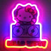 Lâmpada Neon Hello Kitty
