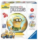Lâmpada Puzzle 3D Ravensburger Minions