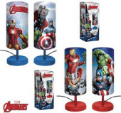 Lâmpada redonda de mesa Avengers