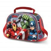 Lancheira 3D Avengers Force