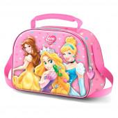 Lancheira 3D Princesas Disney