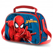Lancheira 3D Spiderman Crawler