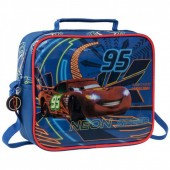 Lancheira escolar Disney Cars Neon Speed