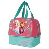 Lancheira Frozen Anna & Elsa