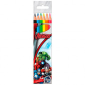 Lápis 6 cores Avengers Marvel