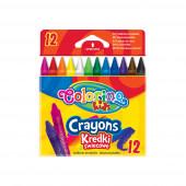 Lápis Cera Colorino 12 Cores