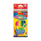 Lápis Cor Hexagonal 12 Cores Colorino
