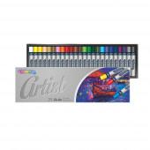 Lápis de Cera Artística 24 unid