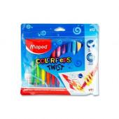 Lápis de cera Maped 12