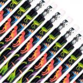 Lápis Dinossauro c/ Borracha