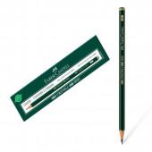 Lápis preto Faber Castell 9000 6B