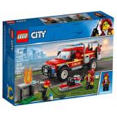 Lego 60231 - Camião da Chefe de Bombeiros
