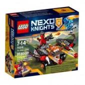 LEGO  70318 Nexo Knights - Atacante de Esferas Viscosas