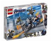 Lego Avengers 76123 - Capitão América Ataque de Outriders
