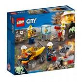 Lego City 60184 - Equipa de Mineiros