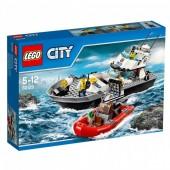 Lego City - Barco de Patrulha da Polícia