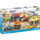 Lego Cobi  - Local Demolição - 590 peças