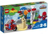 Lego Duplo 10876 - Aventuras Spiderman e Hulk