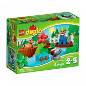 Lego duplo patos no bosque