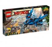 LEGO Ninjago - Avião a Jato Relâmpago - 70614