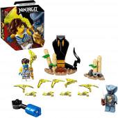 Lego Ninjago Jay vs Serpentine 71732