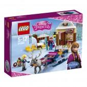 Lego Princesa Frozen Aventura de Trenó da Anna e do Kristoffa
