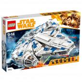 Lego Star Wars Halcon Milenário o corredor de Kessel