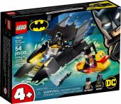Lego Super Heroes Perseguição Pinguim no Batbarco 76158