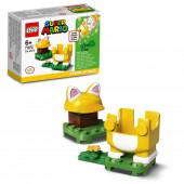 Lego Super Mario Pack Power Up Mario Gato 71372