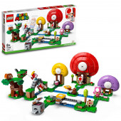 Lego Super Mario Set de Expansão: A Caça do Tesouro do Toad 71368