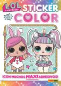 Livro Atividades LOL Surprise Sticker and Color